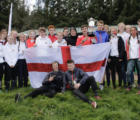 Victorious England Squad
