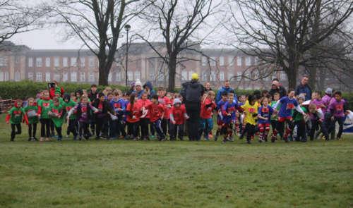 Beckett Park Mass Start