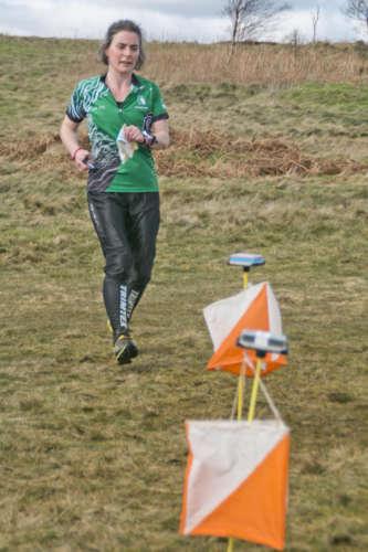 Natasha Finishing At Cringle Moor